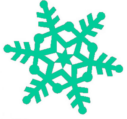 Falling Snow Clipart